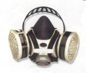 AOSafety EZDrop Half Face Respirator